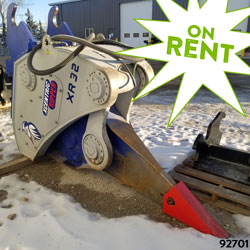 xcentric ripper xr32 for rent on sale used canada