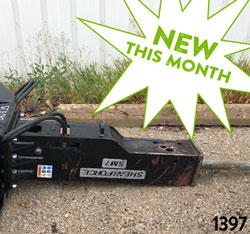 ShearForce SM7 Hydraulic Hammer for rent on sale used canada