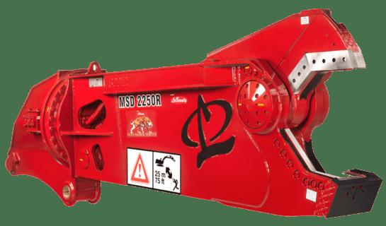 MSD 2250R Excavator Attachment