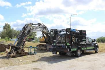 Excavator Plumbing