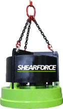 shearforce hydraulic magnets