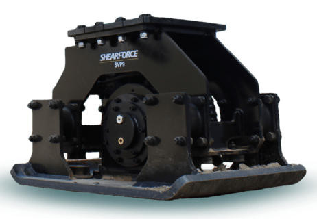 ShearForce Compactor SVP9 excavator attachment