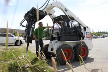 Shearforce Skid Steer Attachment