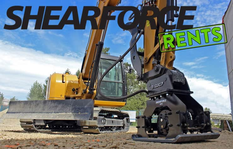 Shearforce Excavator Rentals