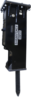 ShearForce SM35 Hammer Excavator Attachment