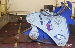 xcentric ripper xr52 hydraulic excavator attachment for sale rent used