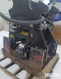 stanley hsx11 hydraulic compactor for sale rent used