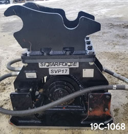 shearforce svp17 hydraulic compactor hoe-pack for sale used