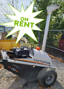 Motofog MF20B Portable Dust Suppression for rent on sale used canada