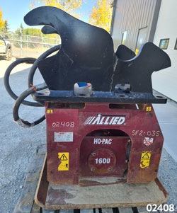 allied 1600 hydraulic compactor for sale on rent used canada