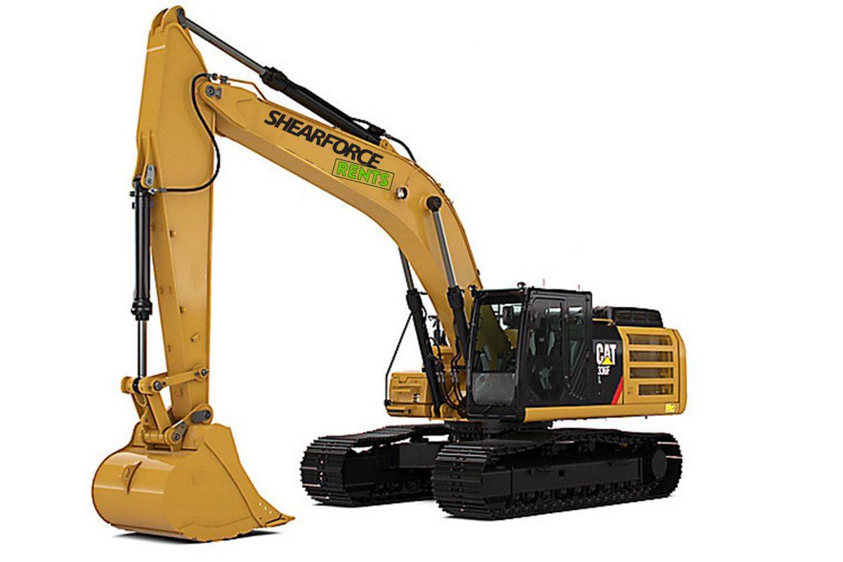 CAT 336 excavator for rent rental canada