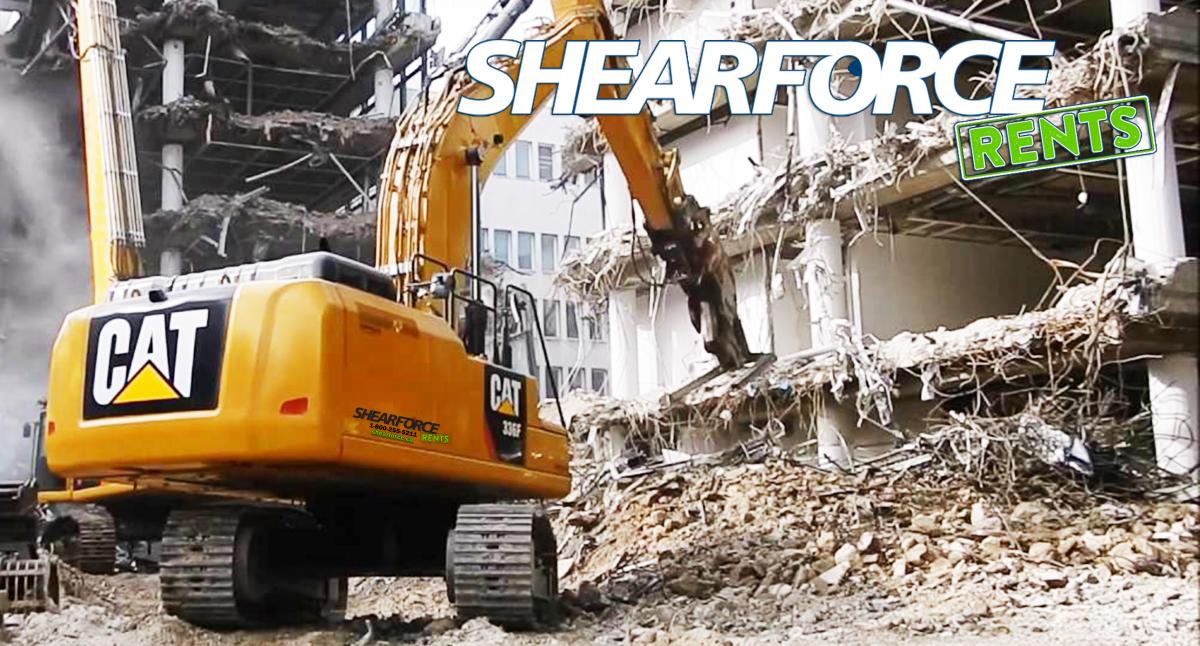 Excavator Equipment Rentals | Attachment & Part Rentals