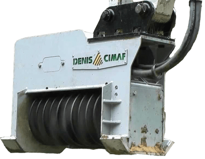 DENIS CIMAF Brushcutter Excavator Attachment