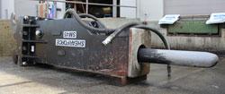 shearforce sm45 hydraulic hammer for sale used