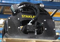 stanley hsx6 compactor excavator used rental
