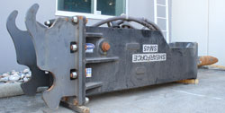 shearforce sm45 hammer excavator used for sale
