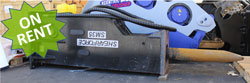 shearforce sm35 hydraulic hammer excavator used for sale