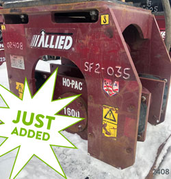 allied 1600 ho-pac compactor for sale used rent