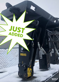 stanley mb05 skid steer hydraulic hammer for sale used rent