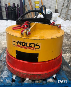 moley magnetics esa 38 hydraulic magnet for sale used rent