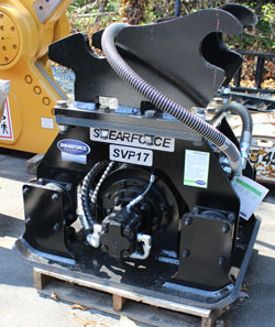shearforce svp17 compactor for sale used