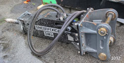 shearforce sm9 hydraulic hammer for sale used