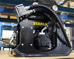 stanley hsx3 hydraulic compactor for sale used