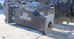 shearforce sm15 hydraulic hammer for sale used