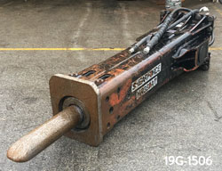 shearforce hr380 hydraulic hammer for sale used