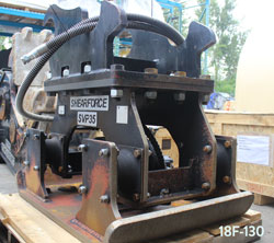 shearforce svp35 compactor hoe pack excavator for sale used