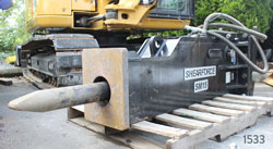 shearforce sm15 hydraulic hammer for sale rent used