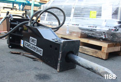 shearforce hydraulic hammer excavator sm9 for sale rent used