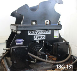 shearforce svp35 compactor hoe pack for sale used rent