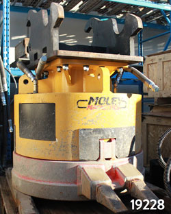 moley magnetics esa 42 claw demolition magnet for sale rent used