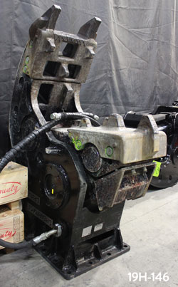 shearforce concrete demolition pulverizer for sale rent used