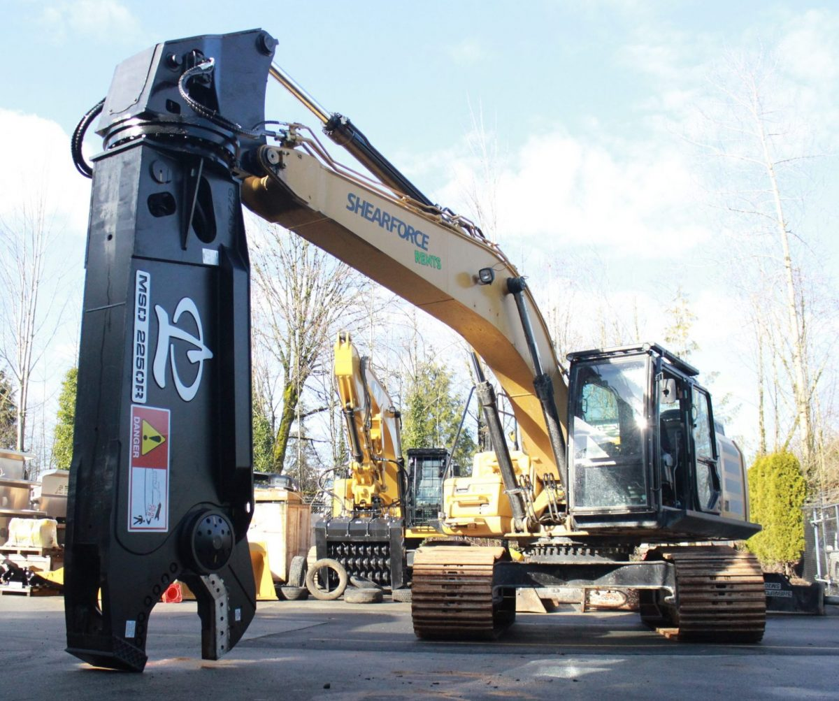 labounty MSD2250R shear for sale cat 330 excavator for sale rent rental