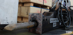 shearforce sm9 hydraulic hammer for sale rent used