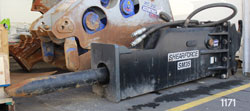 shearforce sm35 hydraulic hammer for sale rent used