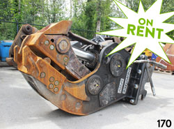 shearforce fixed concrete pulverizer attachment for sale rent used canada