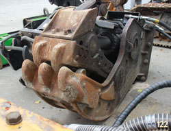 shearforce sp20v pulverizer excavator attachment for sale rent used