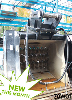 simex vse40 screening bucket for sale on rent used canada