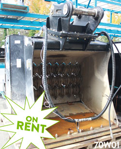 simex vse40 screening bucket on sale for rent used canada