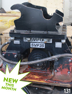 ShearForce SVP355 Hydraulic Compactor for sale used on rent canada