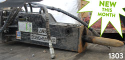 ShearForce SM7 Hydraulic Hammer for sale used on rent canada