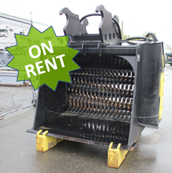 remu pd3160 screening bucket used rent for sale