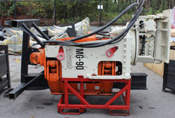 grizzly multigrip mg90 pile driver used for sale