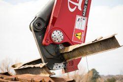labounty shear excavator demolition processing