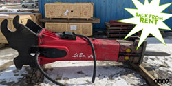 Rammer/Labounty lmb5545 hydraulic hammer for sale on rent used canada