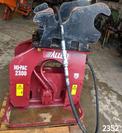 Allied 2300 hydraulic compactor for rent on sale used canada