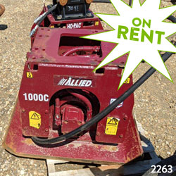 allied 1000 hydraulic compactor for sale used on rent canada